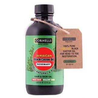 Cornells Jamaican Black Castor Oil Rosemary