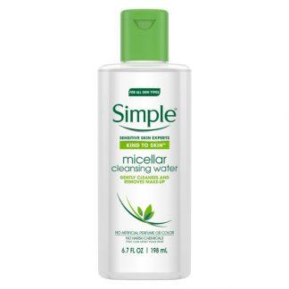 Simple Micellar Water (Small) Kind To Skin 200ml