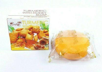 Soft7 Tumeric Honey Soap